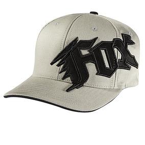 Gorra Fox Racing New Generación Juvenil Flexfit Blanco negro 6f3be0cabba
