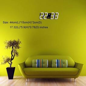 Reloj 3d Led Digital Moderno