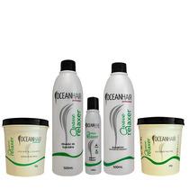Kit Basico De Relaxamento Guanidina Ocean Hair