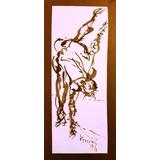 Tinta Sobre Papel Original De Bruno Venier
