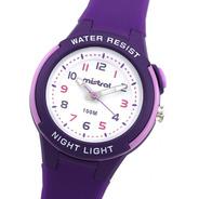 Reloj Mujer Mistral Lax-op-06 Sumergible Luz Joyeria Esponda