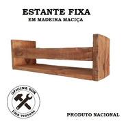 Estante Prateleira Porta Livros Revistas Multiuso -artesanal