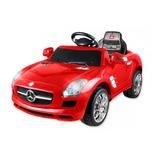 Carro Elétrico Infantil Mercedes Benz Vermelho Xalingo