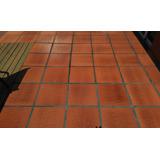 Baldosa Patio Interior/exterior Loimar Curada Fuego 35x35 1*