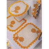 Hermosos Juegos De Baños Tejidos En Crochet .