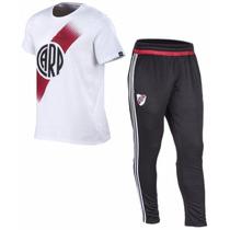 Conjunto River Plate 2017 Adidas Remera + Chupin Oferta!