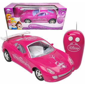 Carrinho Controle Remoto Princesas Disney Da Candide Meninas