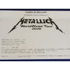 1 Ingresso Metallica Pista Estudante Sp Morumbi 25/04/20