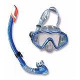 Gafas + Snorkel De Buceo Nivel Recreativo Ecology Mod Marlín