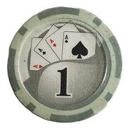 Tubo 25 Fichas De Poker Numeradas X 11.5grs