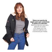 Customs Ba Camperas Mujer Parka Corderito Campera Invierno E