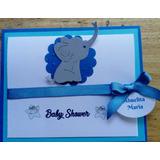 Invitaciones Detalle Elefante Baby Shower