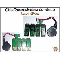 Chip Para Sistemas Impresoras Epson (xp201)
