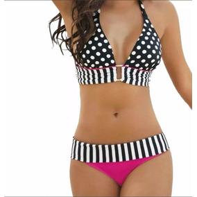 Remate Bikini Retro Push Up Talla L (talla 38)