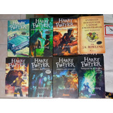 8 Libros / Saga Harry Potter + Animales Fantasticos Original