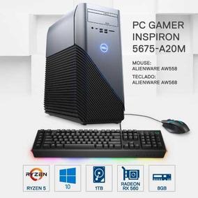 Pc Gamer Dell 5675-a20m Amd R5 8gb 1tb Rx560 2gb W10