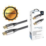 Cabo Displayport 1.4 1,80m 8k 60hz 4k 120hz Full Hd 240hz