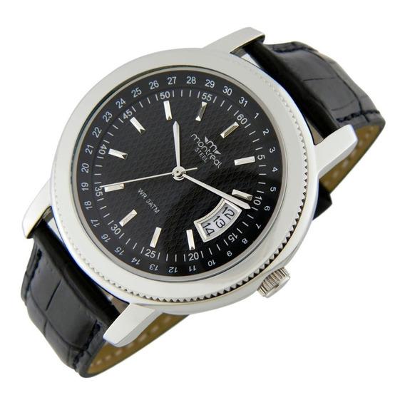 Reloj Montreal Hombre Acero Ml188 Envío Gratis