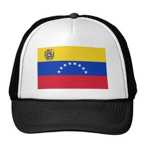 Gorra Trucker Camionero Bandera De Venezuela