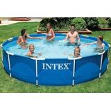 Piscina Intex 6500 Litros - Com Capa E Filtro Inclusos