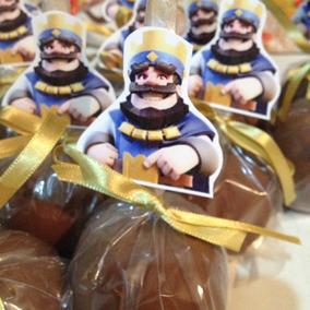 Maçã Do Amor Personalizada De Chocolate
