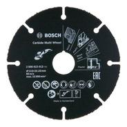 Disco De Corte Multimaterial 115 Mm Tungsteno Bosch 012
