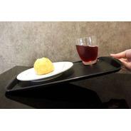 Kit 25un Bandeja Com Antiderrapante Fast Food 44x30