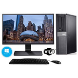 Dell Optiplex 980 Restaurado Pc De Escritorio Con Nuevo 24