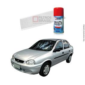 Kit Filtro Ar Condicionado Higienizador Gm Corsa Classic