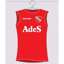 Musculosa Retro Ades Independiente Avellaneda
