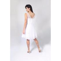 Vestido Noiva Curto Civil , Debutante Lindo Pronta Entrega