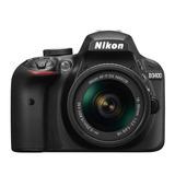 Nueva Cámara Nikon Reflex D3400 Profesional Cuerpo Bluetooth