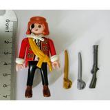Playmobil Pirata Com Duas Espadas E Uma Arma