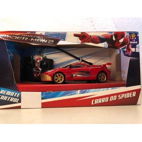 Carro Com Controle Remoto Homem Aranha Mimo 3184