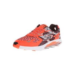 Skechers Zapatilla Running Hombre Go Run Ride 5 Naranja