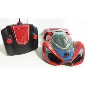 Carrinho C/ Remoto Lamborghini Vermelha Bateria R/