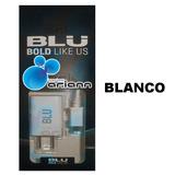 Cargador Blanco 2en1 Cable Usb Blu Studio Dash Advance Life