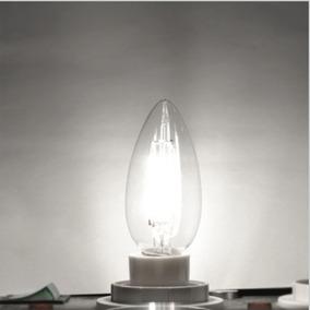 Kit 6 Lampadas E12 Branca 110v Led Vela
