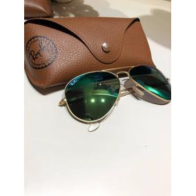 e3011ab52a944 Oculos Ray-ban Verde Espelhado Em Excelente Estado