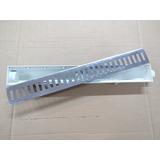 Ralo Linear 6x50 Grelha Aluminio Coletor Seca Piso Continuo