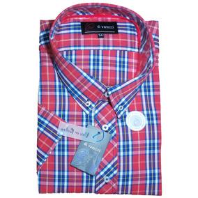 Camisa Manga Corta Especial Talle 54 Muy Buena Confeccion