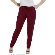 Calça Feminina Cós Elástico /soltinha/confortável Pijama Top