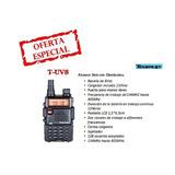 Radio Transmisor Portátil Bidireccional Teamup T-uv8