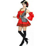 Disfraz Pirata Española Mujer Talla S-m Halloween Cosplay
