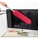 Plumero Microfibra Atrapapolvo Auto Hogar Lavable C/ Repues.