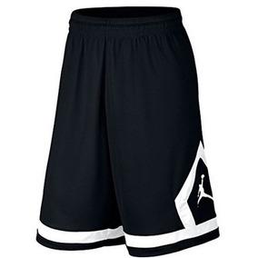 Nike Air Jordan Flight Diamond Basketball Shorts M Negro