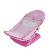 Assento Suporte Banho Bebê Cadeira Para Banheira Funny Rosa