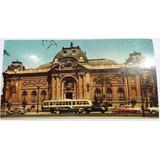 Antigua Postal Museo De Bellas Artes Santiago De Chile.
