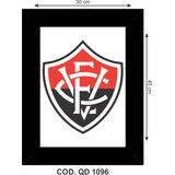 Quadro Escudo Do Vitória Da Bahia