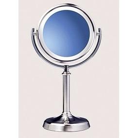 espejo de tocador doble cara con luz natural